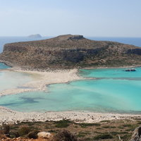 Balos Lagoon and beach