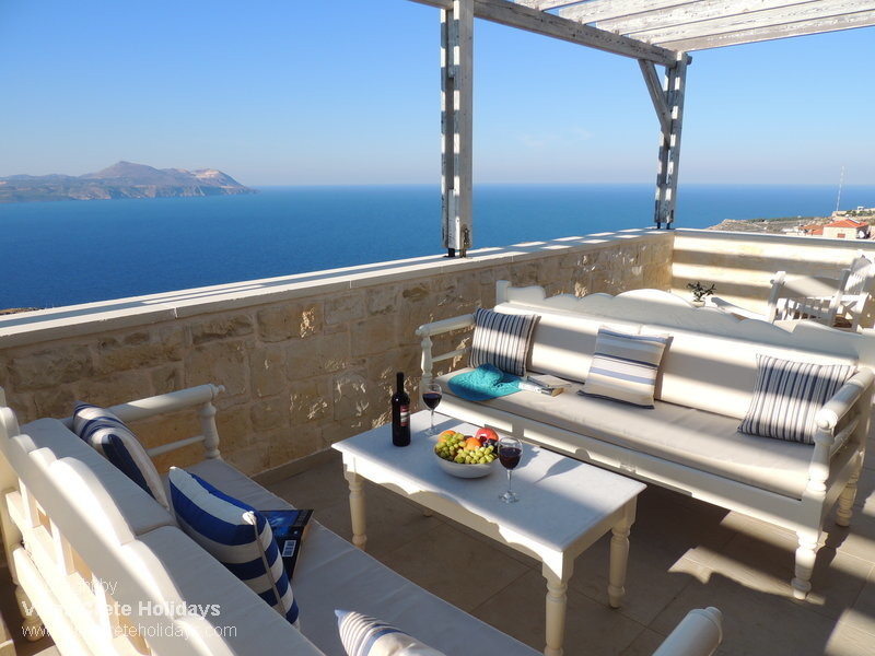 Athina villa for Terrace upstairs