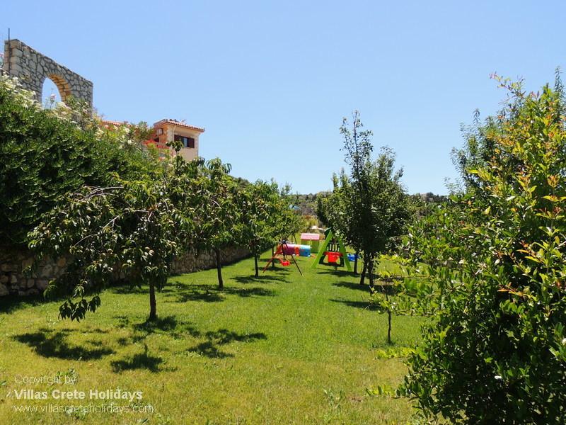 Halepi villa for Terrace trees